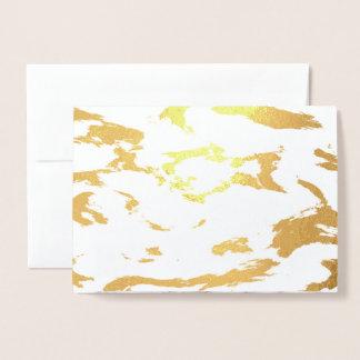 Elegant Marble style2 Foil Card