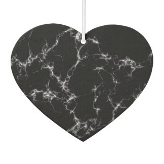 Elegant Marble style4 - Black and White Air Freshener