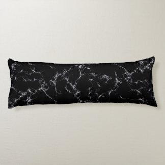 Elegant Marble style4 - Black and White Body Pillow