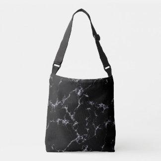 Elegant Marble style4 - Black and White Crossbody Bag
