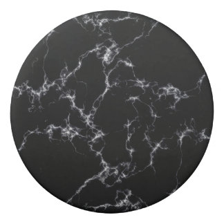 Elegant Marble style4 - Black and White Eraser