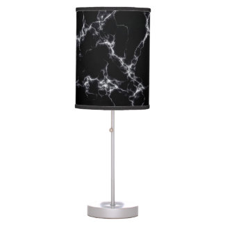 Elegant Marble style4 - Black and White Table Lamp