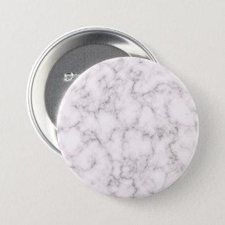 Elegant Marble style 3 Inch Round Button