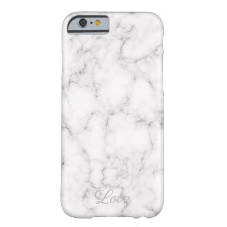 Elegant Marble style Barely There iPhone 6 Case