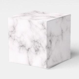 Elegant Marble style Favor Box