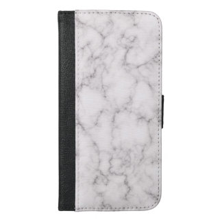 Elegant Marble style iPhone 6/6s Plus Wallet Case