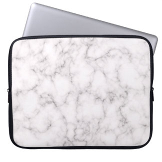 Elegant Marble style Laptop Sleeve