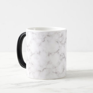 Elegant Marble style Magic Mug