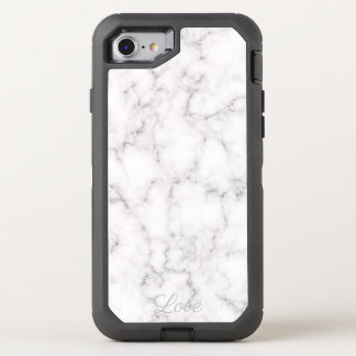 Elegant Marble style OtterBox Defender iPhone 8/7 Case