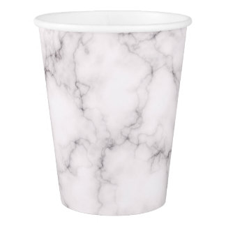 Elegant Marble style Paper Cup