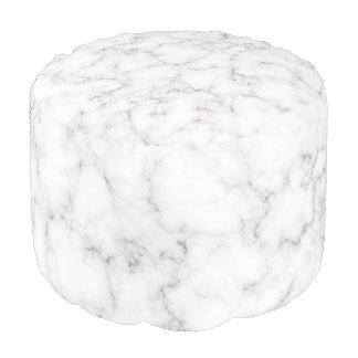 Elegant Marble style Pouf