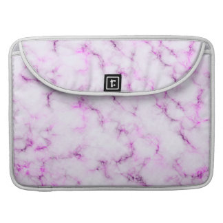 Elegant Marble style - purple pink Sleeve For MacBooks
