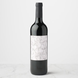 Elegant Marble style Wine Label