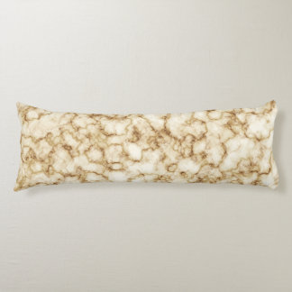 Elegant Marble Texture Body Pillow