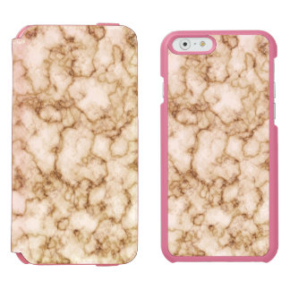 Elegant Marble Texture Incipio Watson™ iPhone 6 Wallet Case