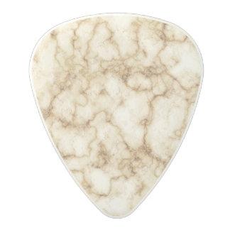 Elegant Marble Texture Polycarbonate Guitar Pick