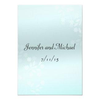 "Elegant Marriage Advice, Comment Card 5"" X 7"" Invitation Card"