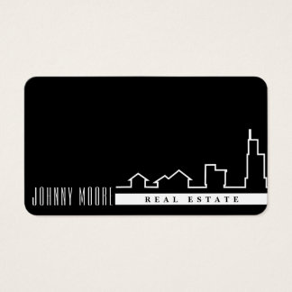 Elegant minimal graphic professional look business card