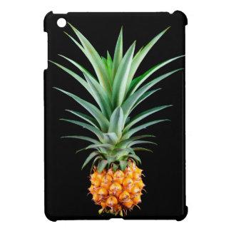 elegant minimalist pineapple | black background cover for the iPad mini