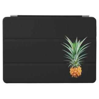 elegant minimalist pineapple | black background iPad air cover