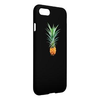 elegant minimalist pineapple   black background iPhone 8/7 case