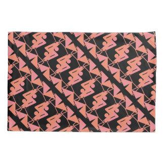 Elegant Mirrored Geometric & Abstract Pattern Pillowcase