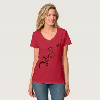 Elegant modern design woman T-shirt