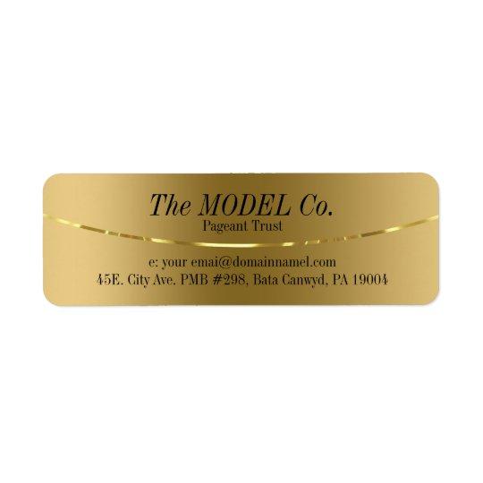 Elegant Modern Gold Design