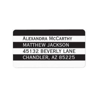 Elegant Modern Mailing Label