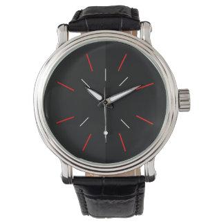 Elegant modern men's watch