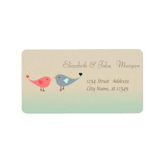 Elegant Modern Stylish,Birds In Love