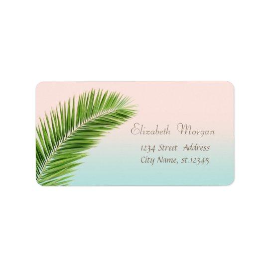 Elegant Modern Stylish,Palm Leaves