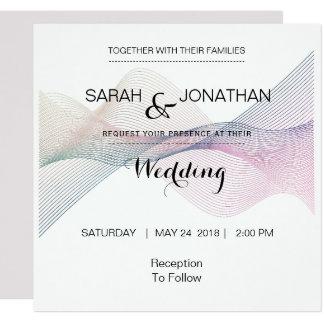 Elegant Modern Wedding Invitation and Announcement