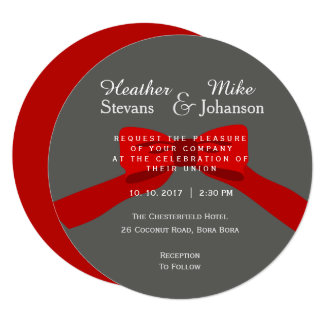 Elegant Modern Wedding Invitation and Announcement