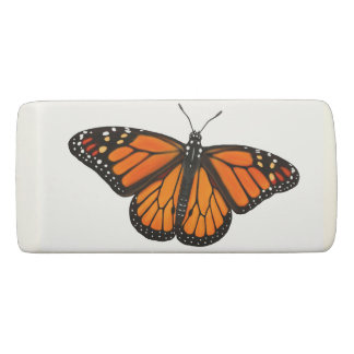 Elegant Monarch Butterfly Eraser