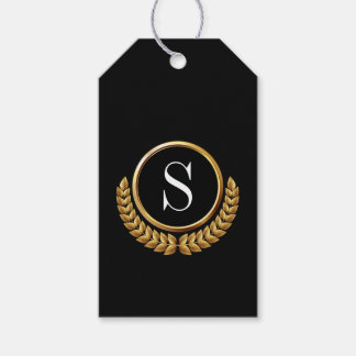 Elegant Monogram Gift Tags Pack Of Gift Tags
