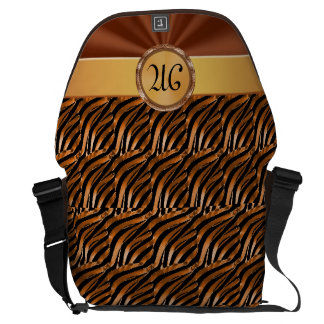 Elegant Monogrammed Computer Case for Women Commuter Bag