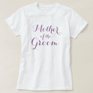 Elegant mother of the groom t shirts   Lavender
