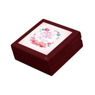 Elegant Mr. & Mrs. Candy Hearts Gift Box