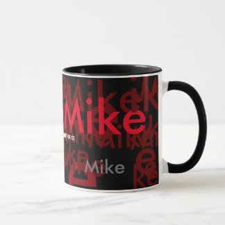 elegant names pattern personalized mug