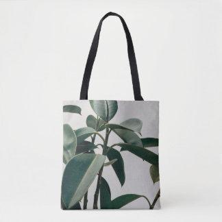 elegant nature inspired tote
