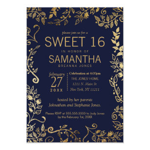 Sweet 16 Invitations Zazzle Ca