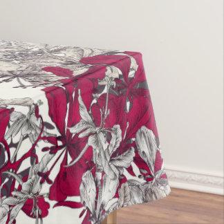 Elegant Nouveau Art vintage floral painting Tablecloth