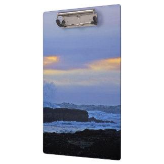 Elegant Ocean scene Clipboard