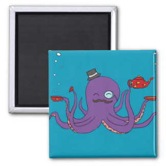 Elegant Octopus Magnet