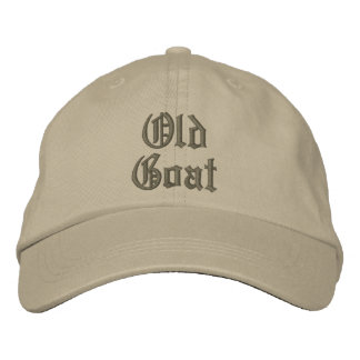 Elegant Old Goat Adjustable Cap