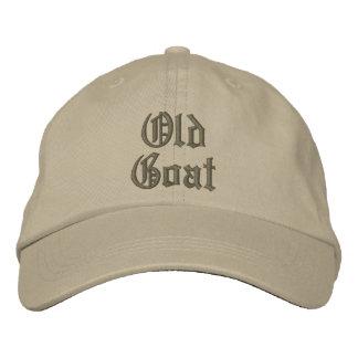 Elegant Old Goat Adjustable Cap Embroidered Baseball Cap