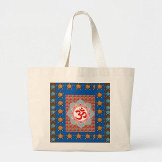 Elegant OmMANTRA Mantra: Yoga Meditation Healing A Jumbo Tote Bag