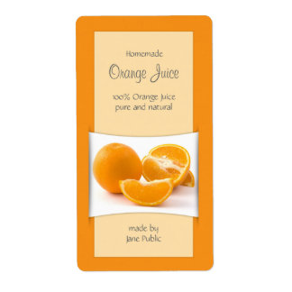 Elegant Orange Juice Jam Marmalade