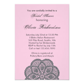 Elegant Ornament Bridal Shower Invitation